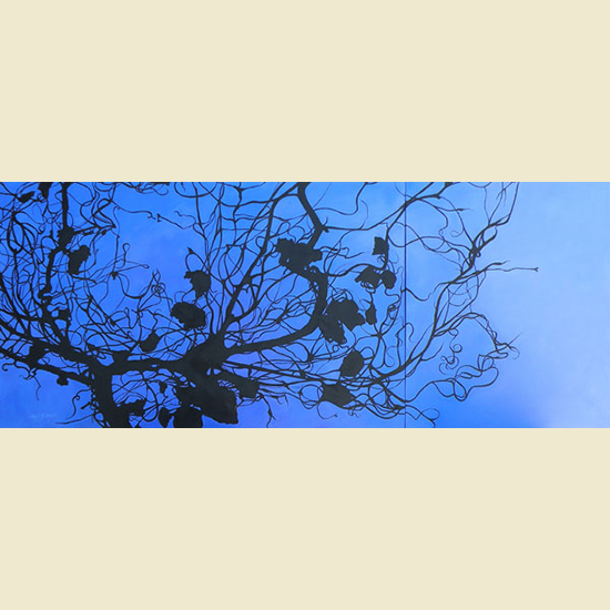 ROOT CAUSE  |  DIPTYCH   30 x 72